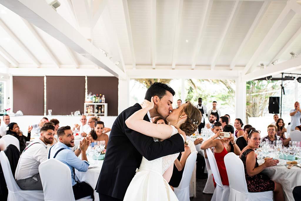 fotografo bodas Santander Magy Ivan besos