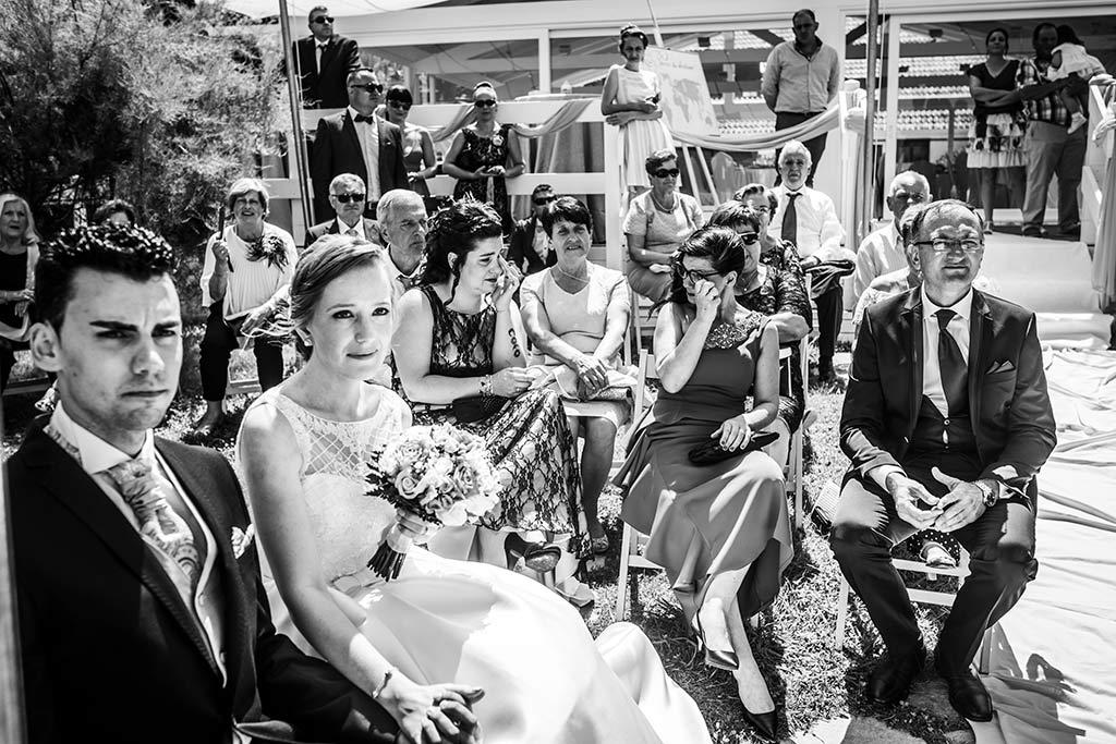 fotografo bodas Santander Magy Ivan emocionados