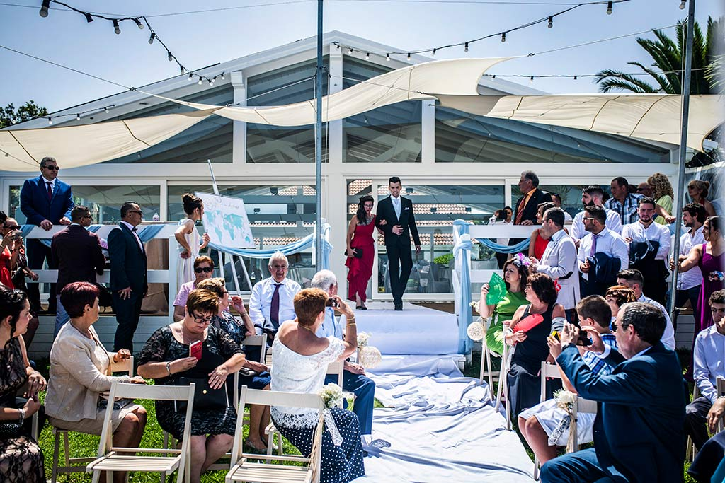 fotografo bodas Santander Magy Ivan entrada novio
