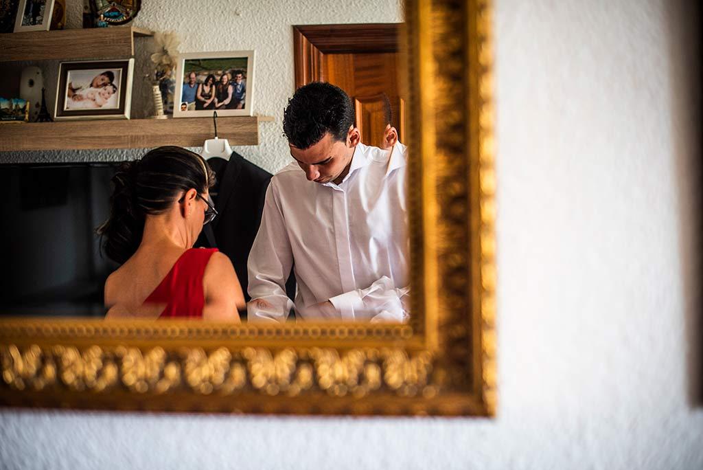 fotografo bodas Santander Magy Ivan espejo