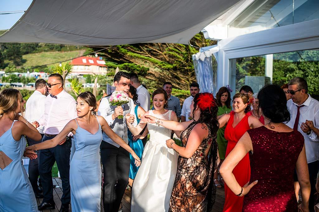 fotografo bodas Santander Magy Ivan fiesta