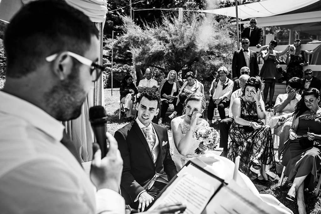 fotografo bodas Santander Magy Ivan emocionada