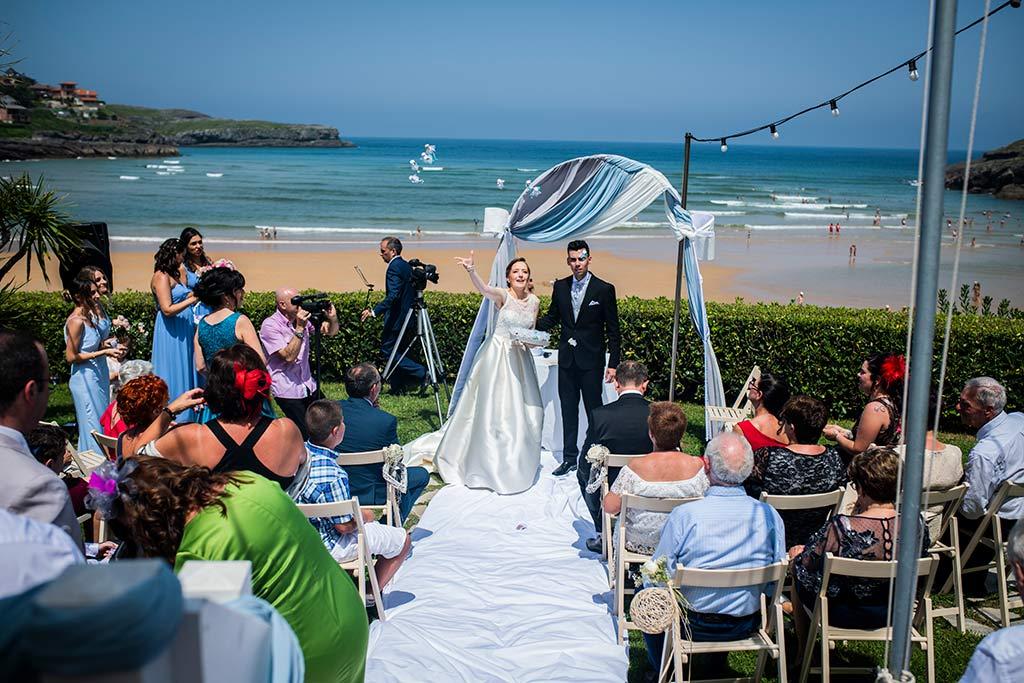 fotografo bodas Santander Magy Ivan salida