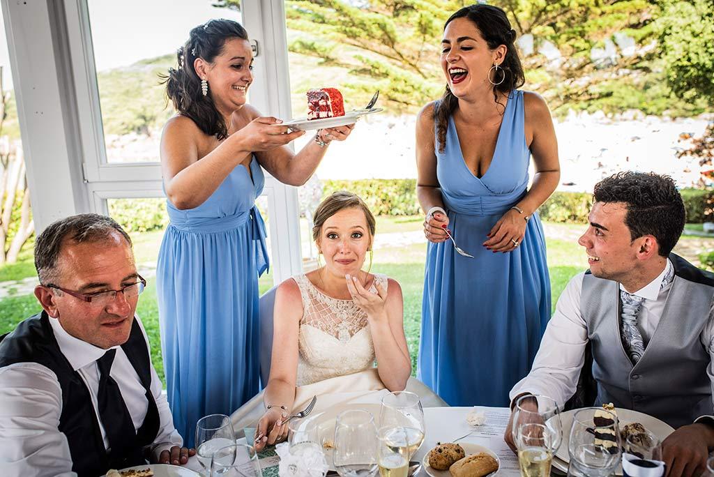 fotografo bodas Santander Magy Ivan tarta robada