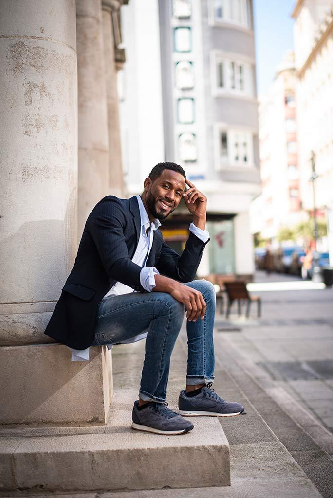 fotografo Santander Cantabria moda Joel sonrisa