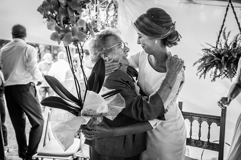 fotógrafo de bodas Cantabria Ana y Mario abuela
