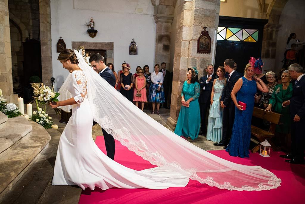 fotógrafo de bodas Cantabria Ana y Mario ceremonia