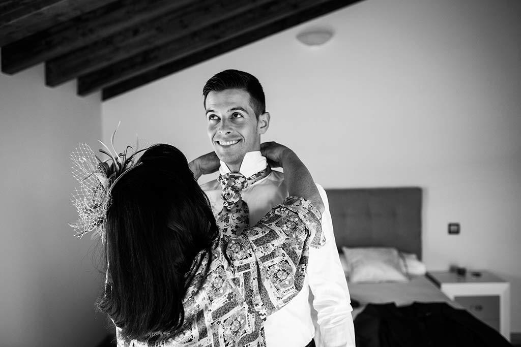 fotógrafo de bodas Cantabria Ana y Mario corbata