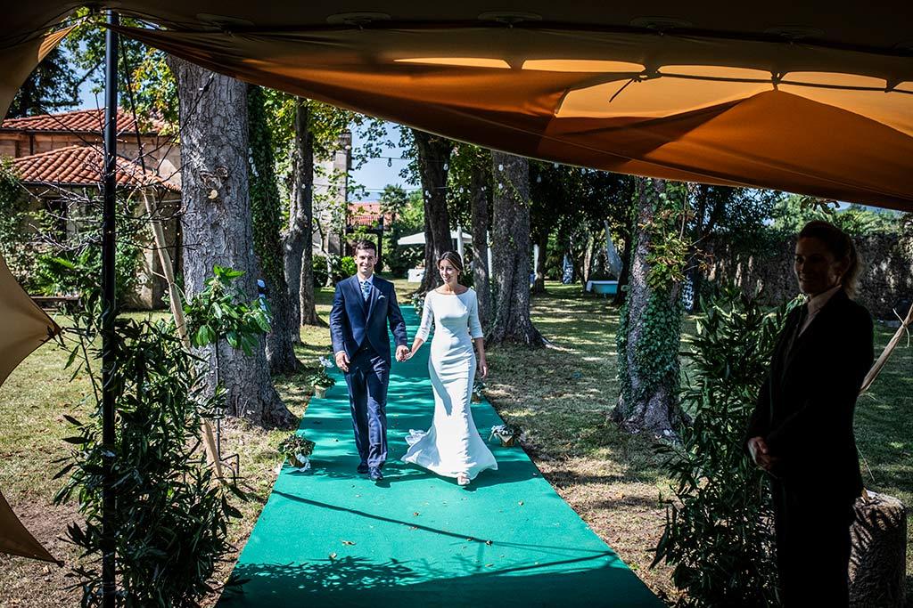 fotógrafo de bodas Cantabria Ana y Mario entrada