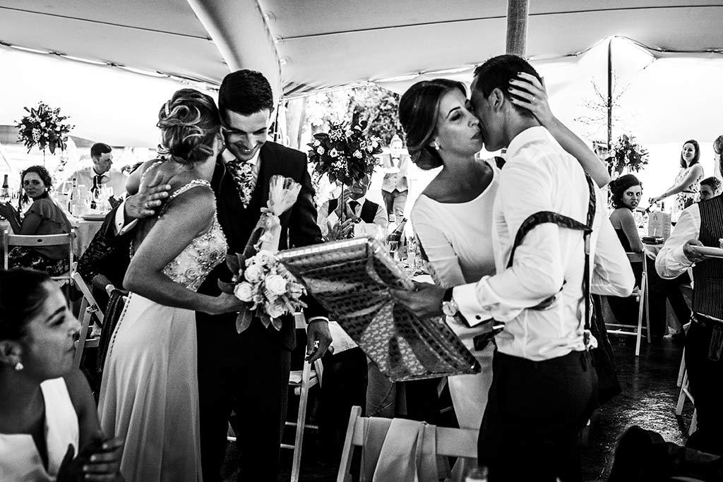 fotógrafo de bodas Cantabria Ana y Mario hermano