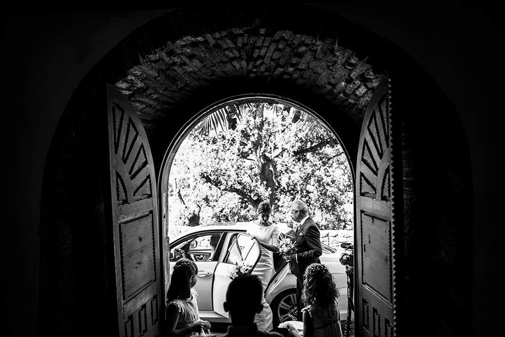 fotógrafo de bodas Cantabria Ana y Mario llegada novia