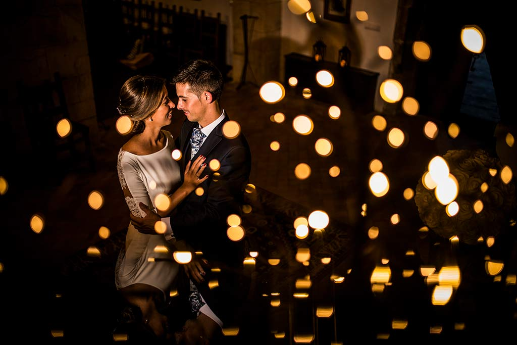 fotógrafo de bodas Cantabria Ana y Mario luces