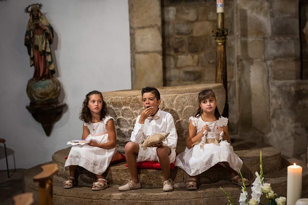 fotógrafo de bodas Cantabria Ana y Mario niños