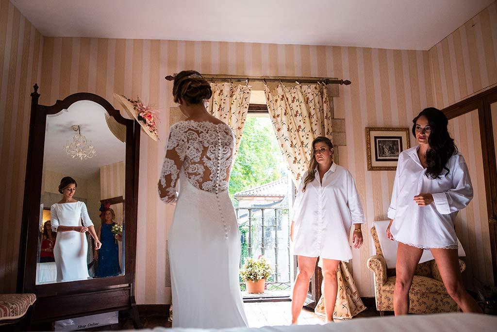 fotógrafo de bodas Cantabria Ana y Mario novia
