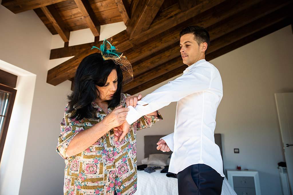 fotógrafo de bodas Cantabria Ana y Mario madrina