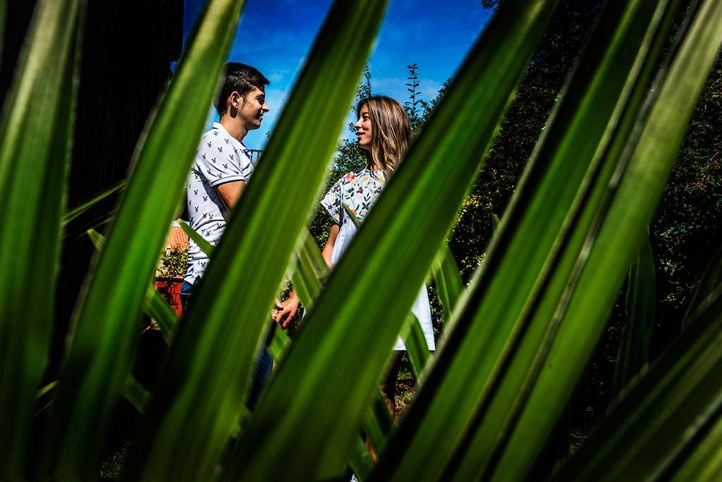 fotógrafo de bodas Cantabria Ana y Mario palmeras