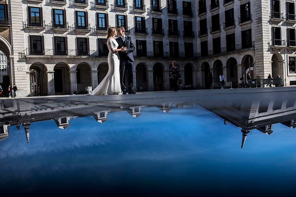 fotógrafo de bodas Cantabria Ana y Mario porticada
