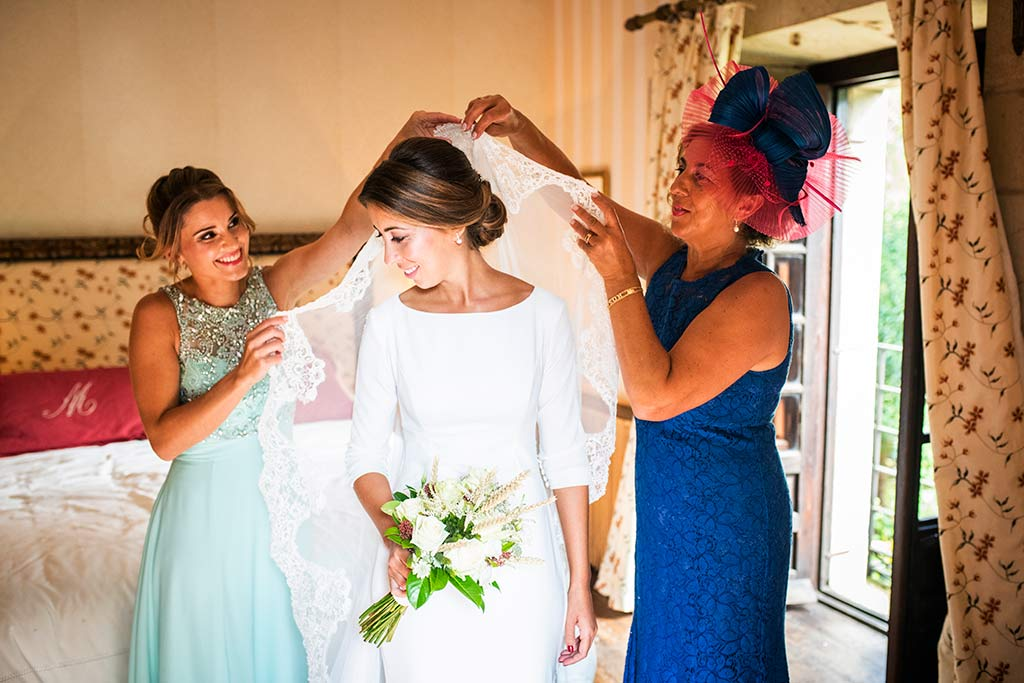 fotógrafo de bodas Cantabria Ana y Mario velo