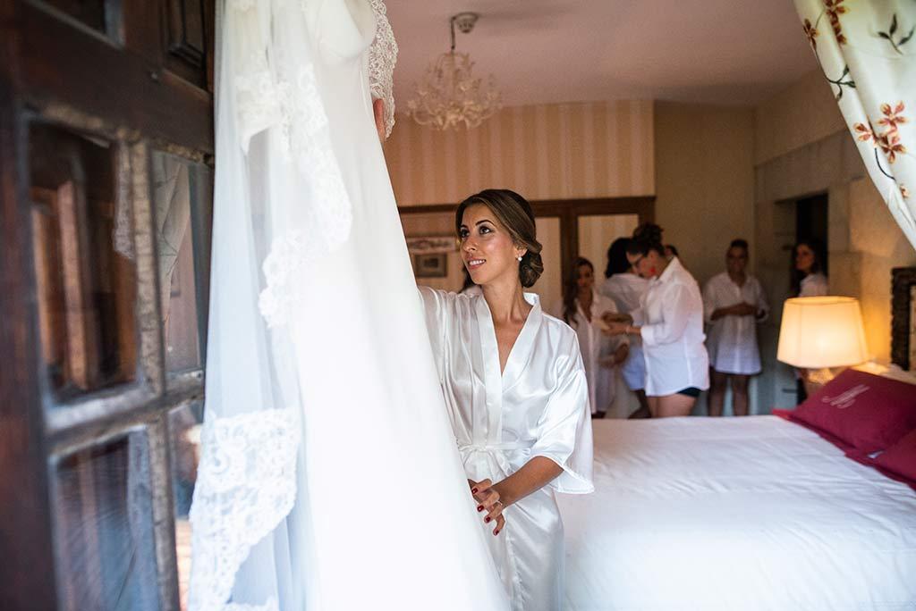 fotógrafo de bodas Cantabria Ana y Mario vestido