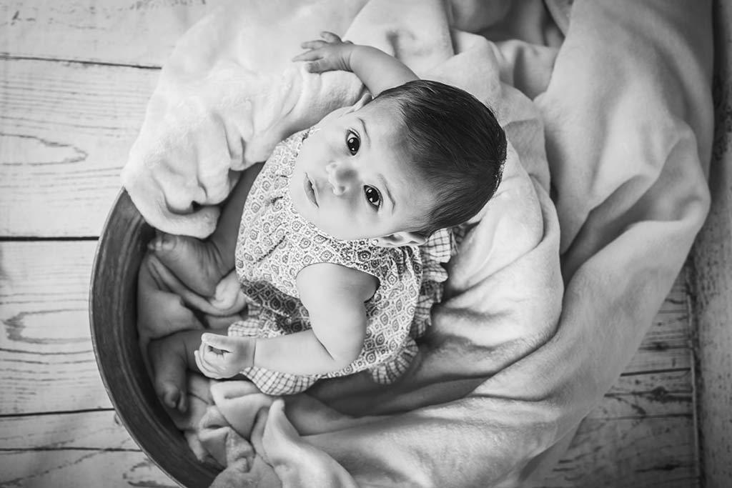 Fotos de niños India blanco y negro