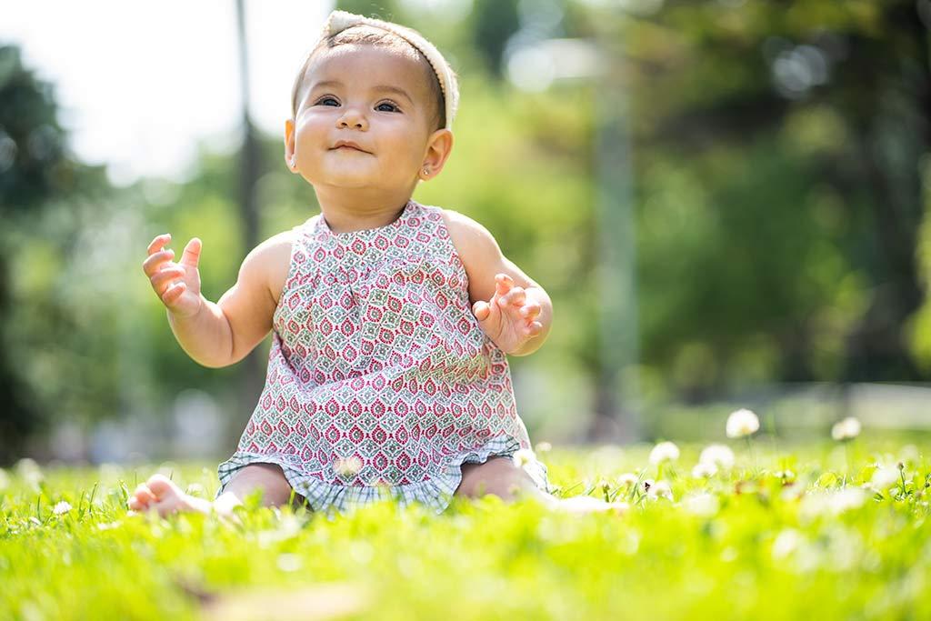 Fotos de niños India jardin