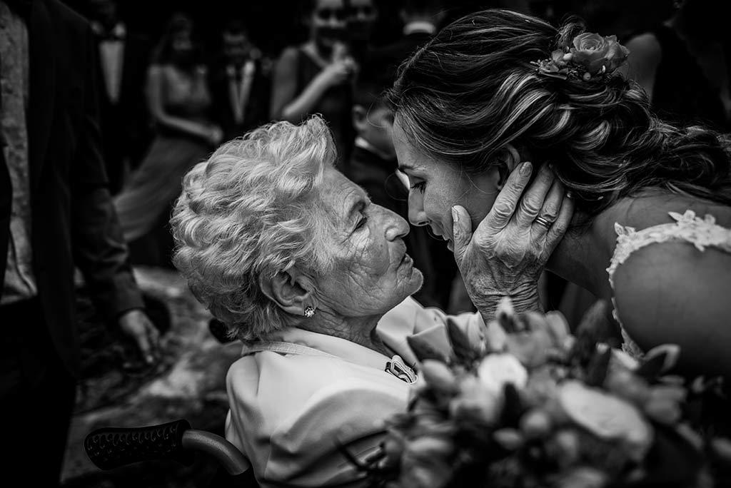 Fotógrafo de bodas Cantabria Marcos Greiz, Katia y Sergio abuela