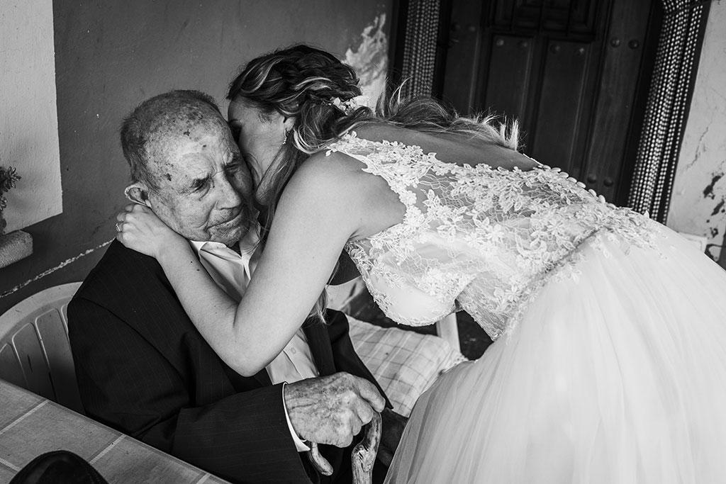 Fotógrafo de bodas Cantabria Marcos Greiz, Katia y Sergio abuelo