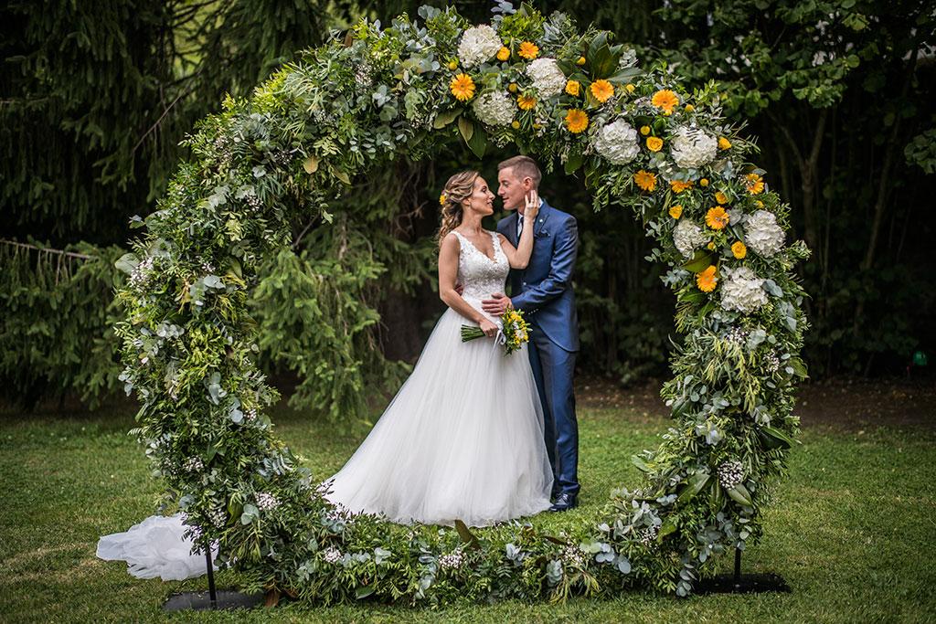 Fotógrafo de bodas Cantabria Marcos Greiz, Katia y Sergio arco