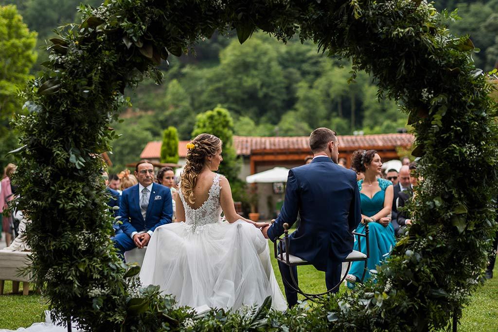 Fotógrafo de bodas Cantabria Marcos Greiz, Katia y Sergio ceremonia