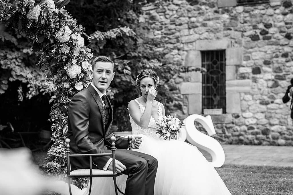 Fotógrafo de bodas Cantabria Marcos Greiz, Katia y Sergio emocion novios