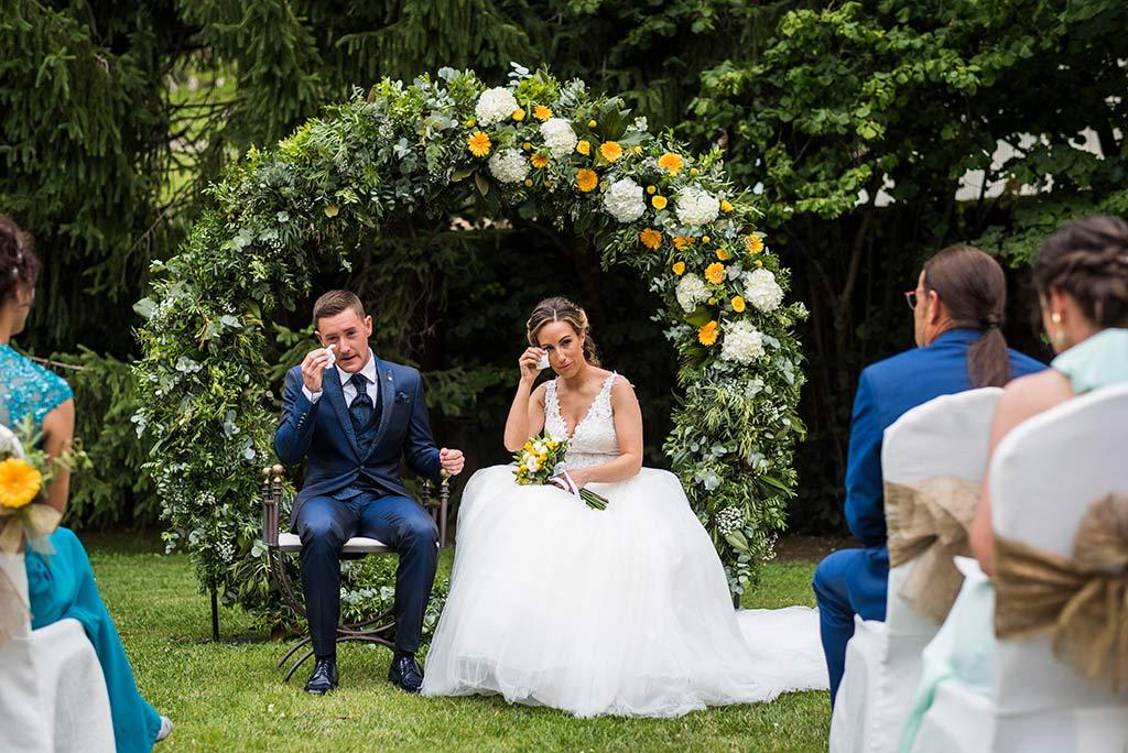 Fotógrafo de bodas Cantabria Marcos Greiz, Katia y Sergio lloros