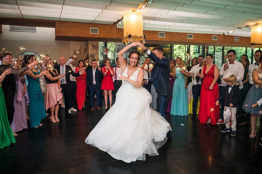 Fotógrafo de bodas Cantabria Marcos Greiz, Katia y Sergio baile
