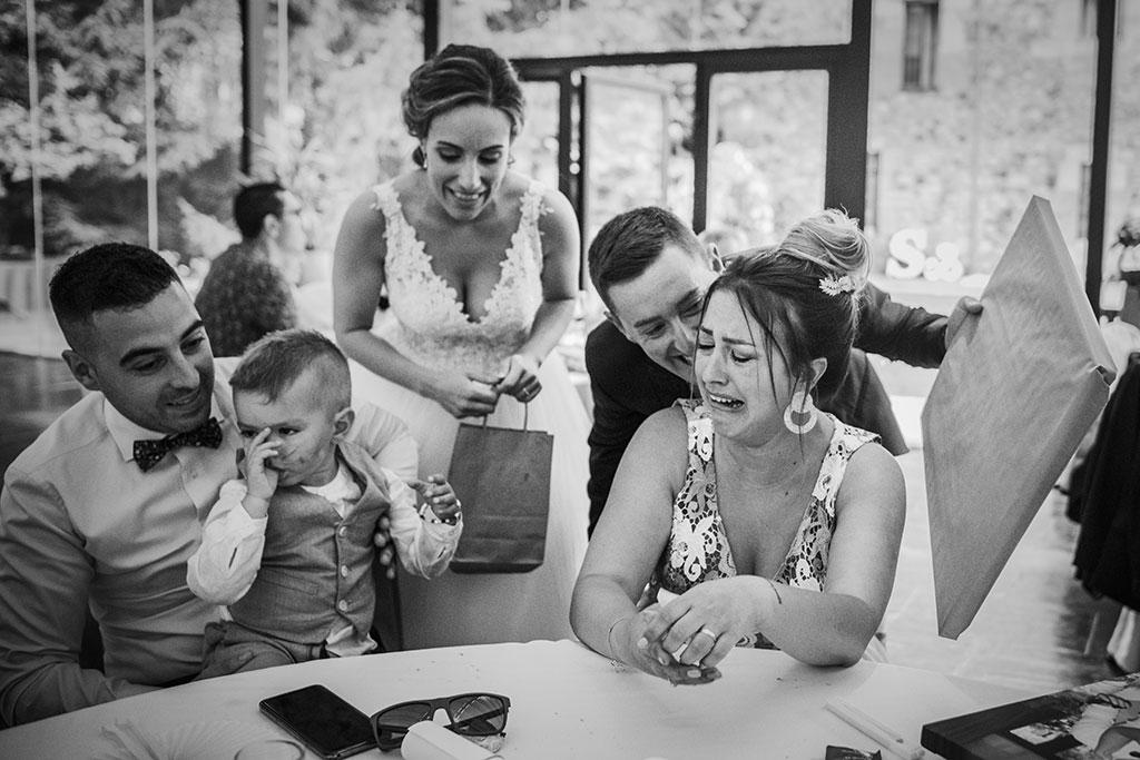 Fotógrafo de bodas Cantabria Marcos Greiz, Katia y Sergio regalo