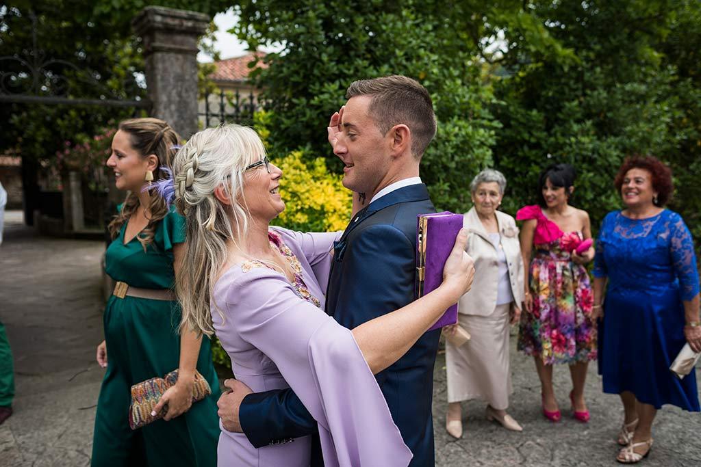 Fotógrafo de bodas Cantabria Marcos Greiz, Katia y Sergio suegra