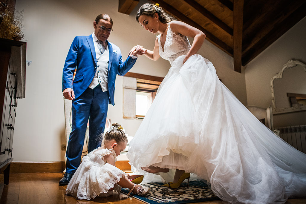 Fotógrafo de bodas Cantabria Marcos Greiz, Katia y Sergio zapatos