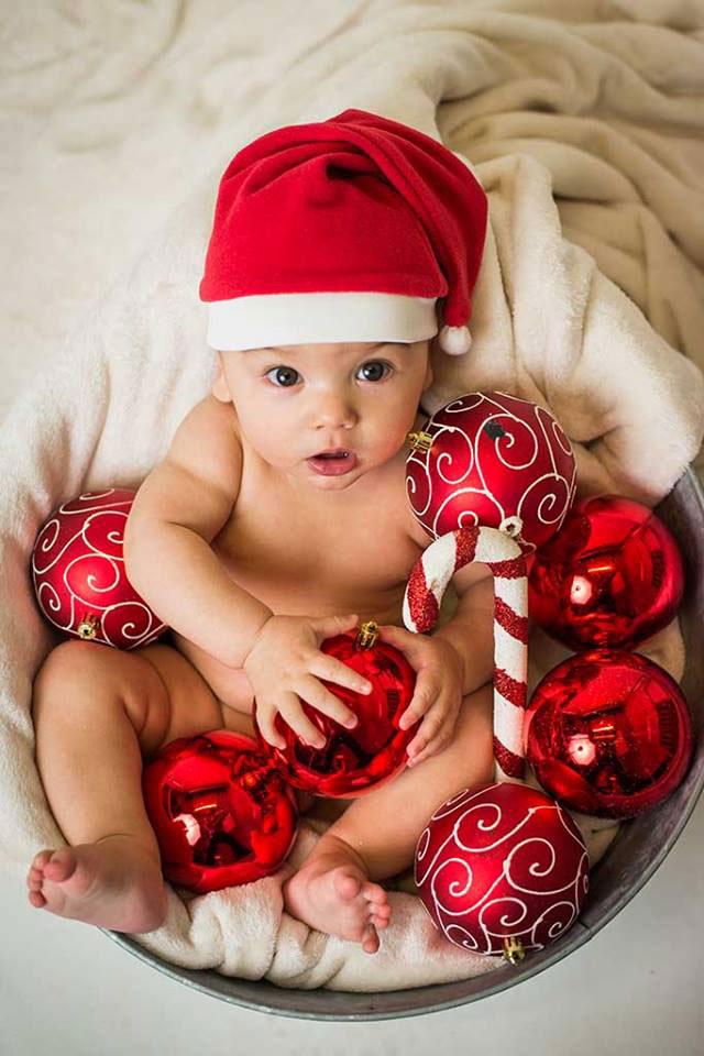 fotos de niños mini sesiones Navidad Dylan