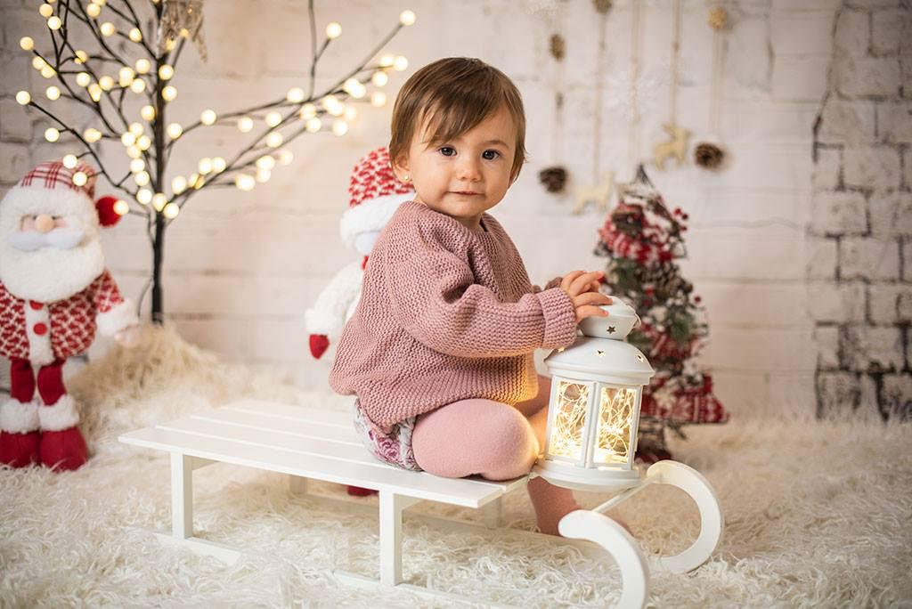 fotos de niños mini sesiones Navidad Laura