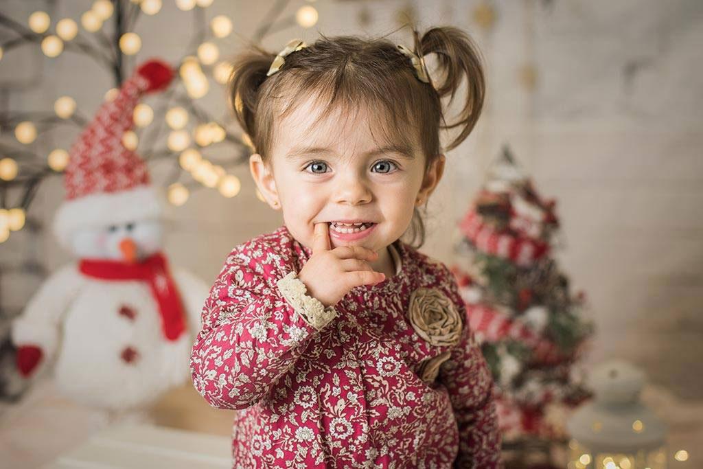 fotos de niños mini sesiones Navidad Vega