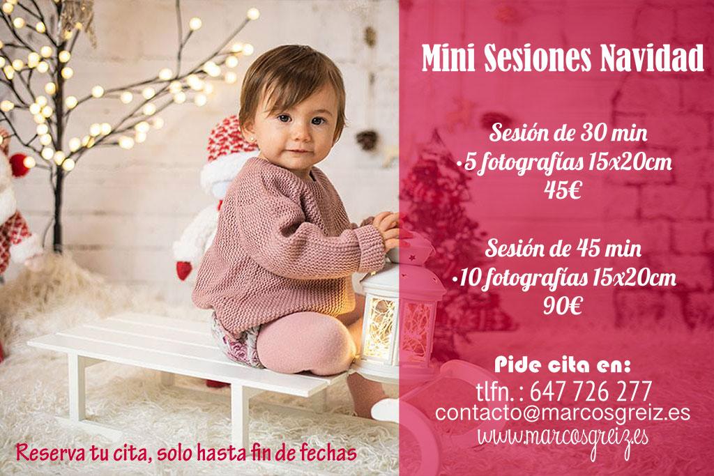 fotos de niños mini sesiones Navidad