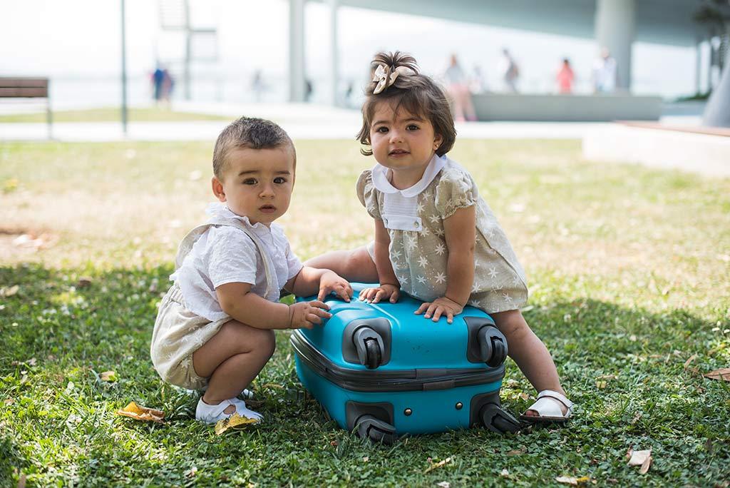 fotos de niños Santander Marcos Greiz Lia maleta