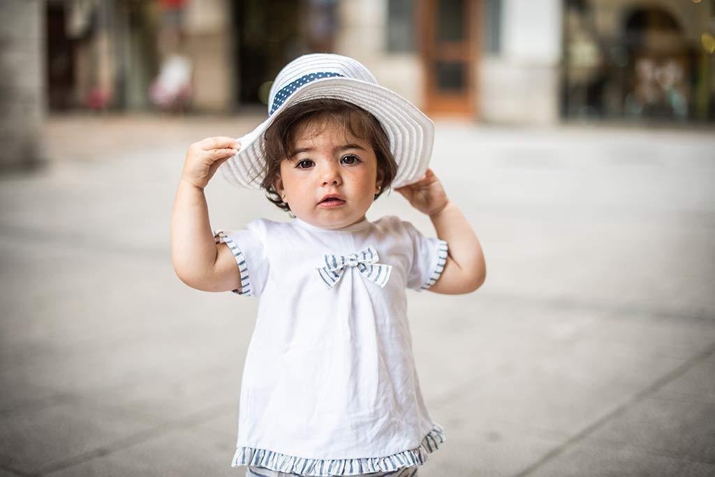 fotos de niños Santander Marcos Greiz Lia gorrito