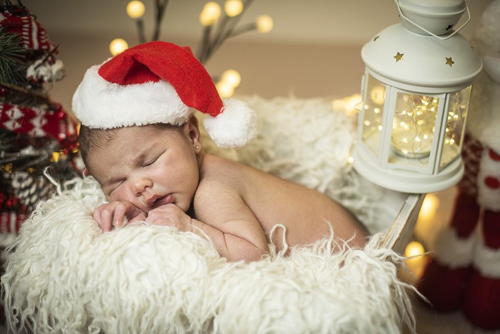 fotos de niños navidad marcos greiz Martina