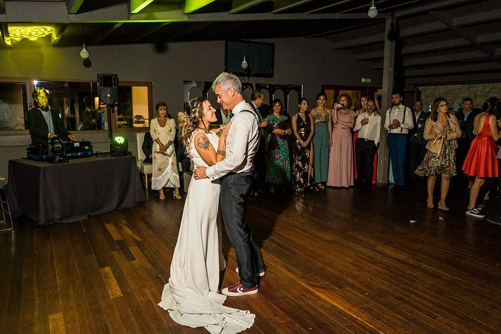 Fotógrafo de bodas Santander Marcos Greiz Noe Ricardo primer baile