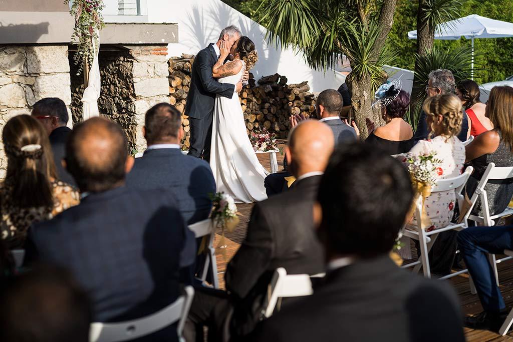 Fotógrafo de bodas Santander Marcos Greiz Noe Ricardo besos