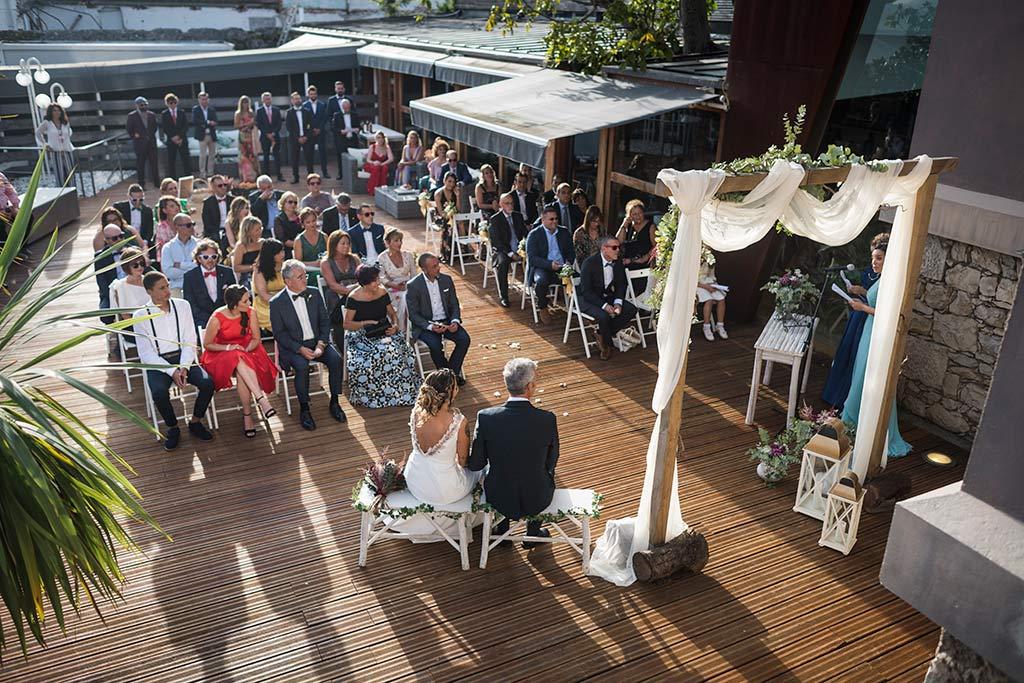 Fotógrafo de bodas Santander Marcos Greiz Noe Ricardo ceremonia