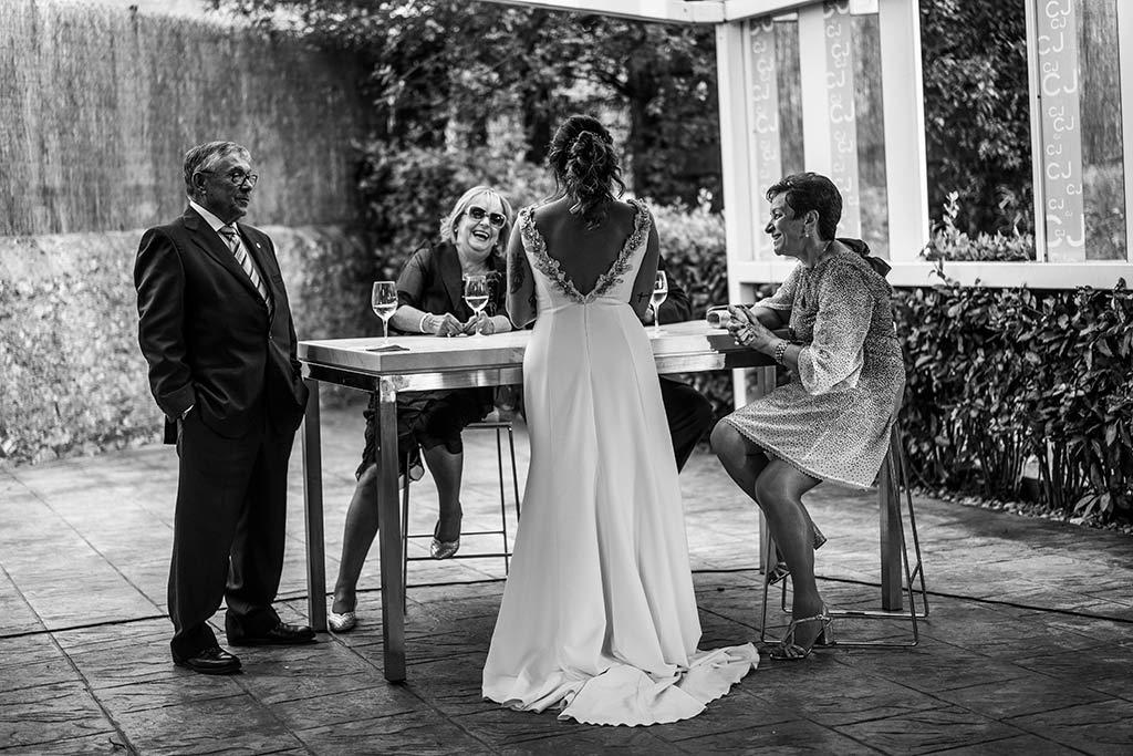 Fotógrafo de bodas Santander Marcos Greiz Noe Ricardo novia
