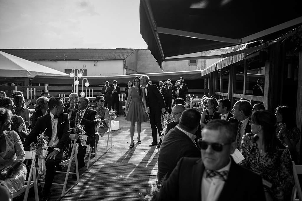 Fotógrafo de bodas Santander Marcos Greiz Noe Ricardo entrada