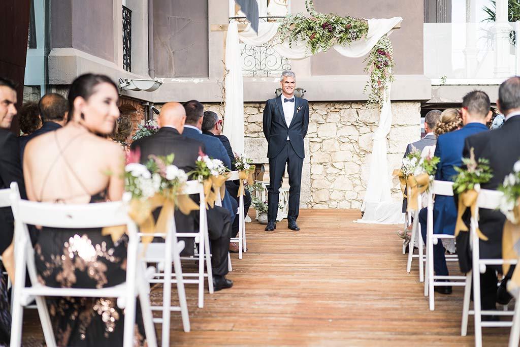 Fotógrafo de bodas Santander Marcos Greiz Noe Ricardo espera