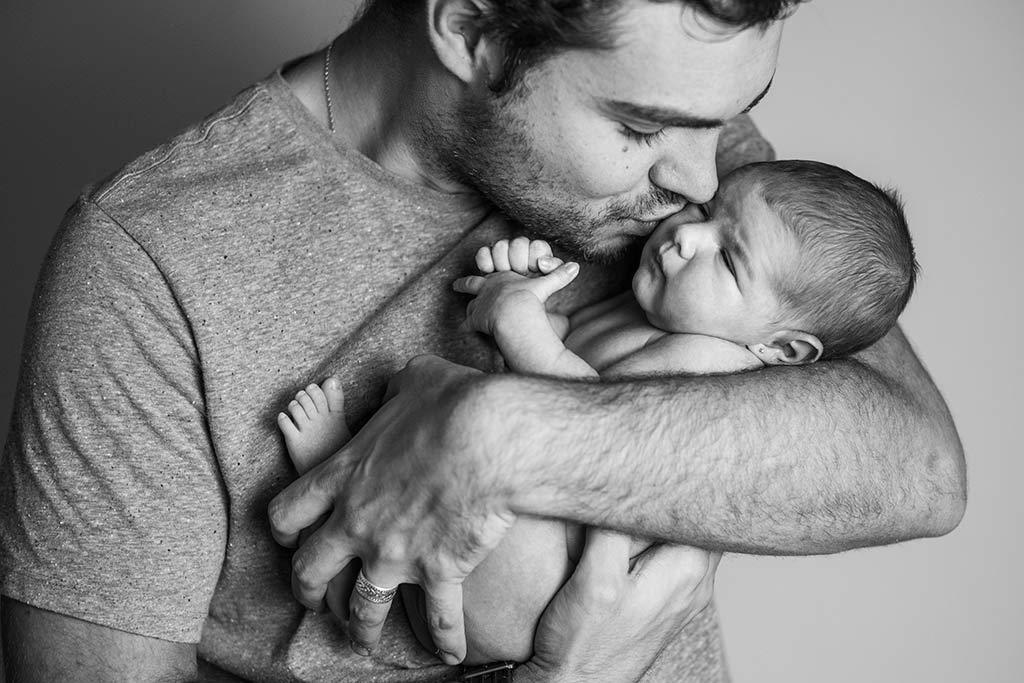 fotos de bebes newborn Marcos Greiz Martina papa