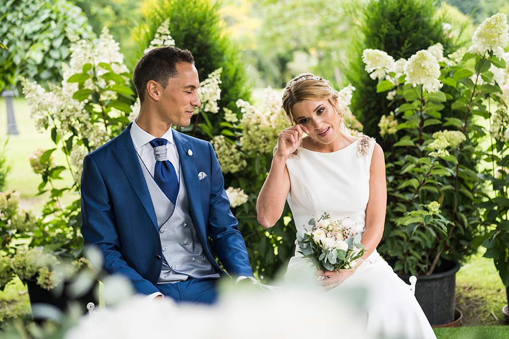 Fotógrafo de bodas Cantabria Marcos Greiz Isa Jose emocion